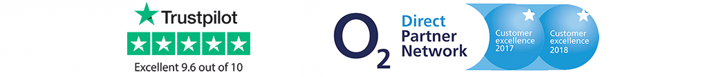 O2 Direct Partner Network and Trustpilot