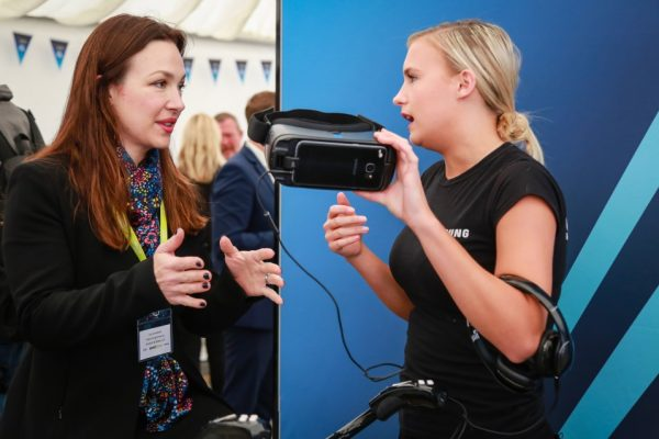 Aerial Direct Open Day - activities with Samsung