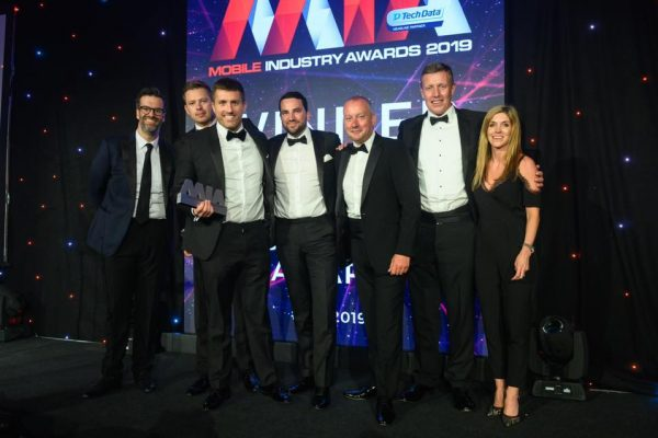 Winners at the Awards - Aerial Direct