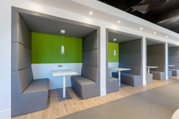 Aerial Direct Canteen Breakout booths