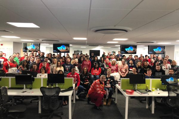 Christmas activities at Aerial Direct