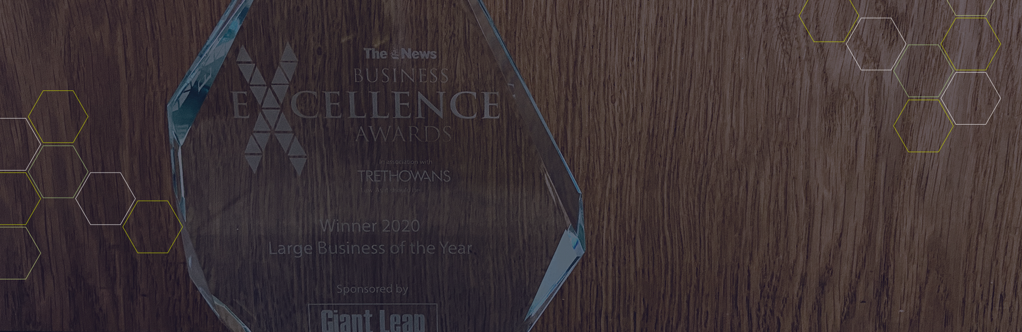 Winners at The News Business Excellence Awards 2020